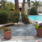 miracle spring resort and spa fountain